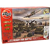 Airfix 1:48 Scale Battle of Britain Ready for Battle Model Kit