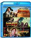 Jumanji: 1995 + Bienvenidos a la Jungla + El Siguiente Nivel (BD) [Blu-ray]