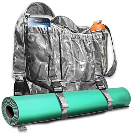 d0025e8439a2 Amazon.com  3 Shades of Grey Multi-Purpose Large Yoga Bag