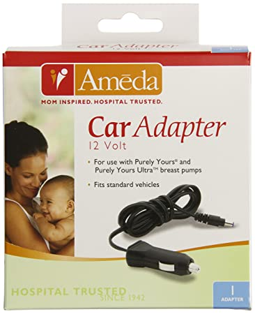 Amazon Com Ameda Purely Yours Breast Pump Car Adapter Electric