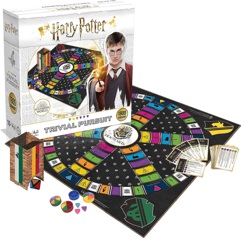 WINNING MOVES Trivial Pursuit mundo de Harry Potter Tamaño Completo 902: Amazon.es: Juguetes y juegos