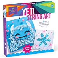 Deals on Craft-tastic Yeti & Snowflake String Art Kit