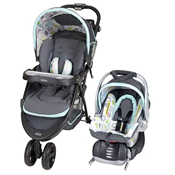 Amazon Baby Trend Nexton Travel System Mod Dot Baby
