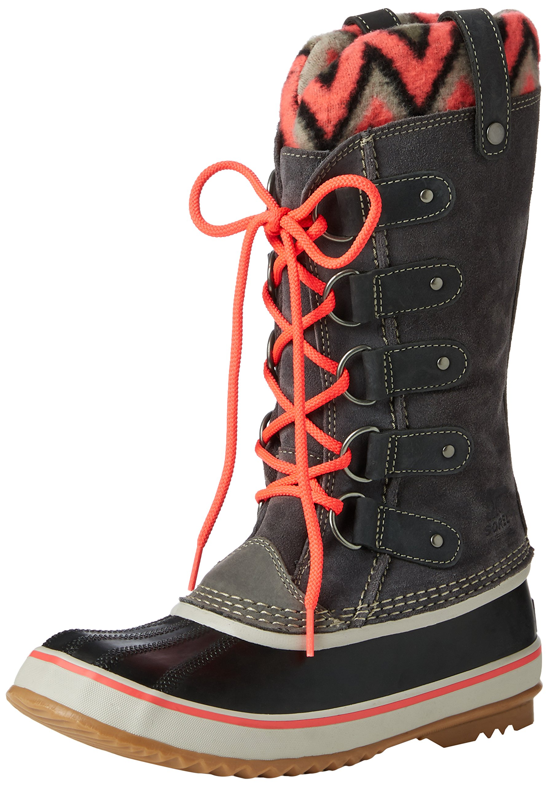 Sorel Womens Joan of Arctic Knit II Snow Boot Shale Size 7