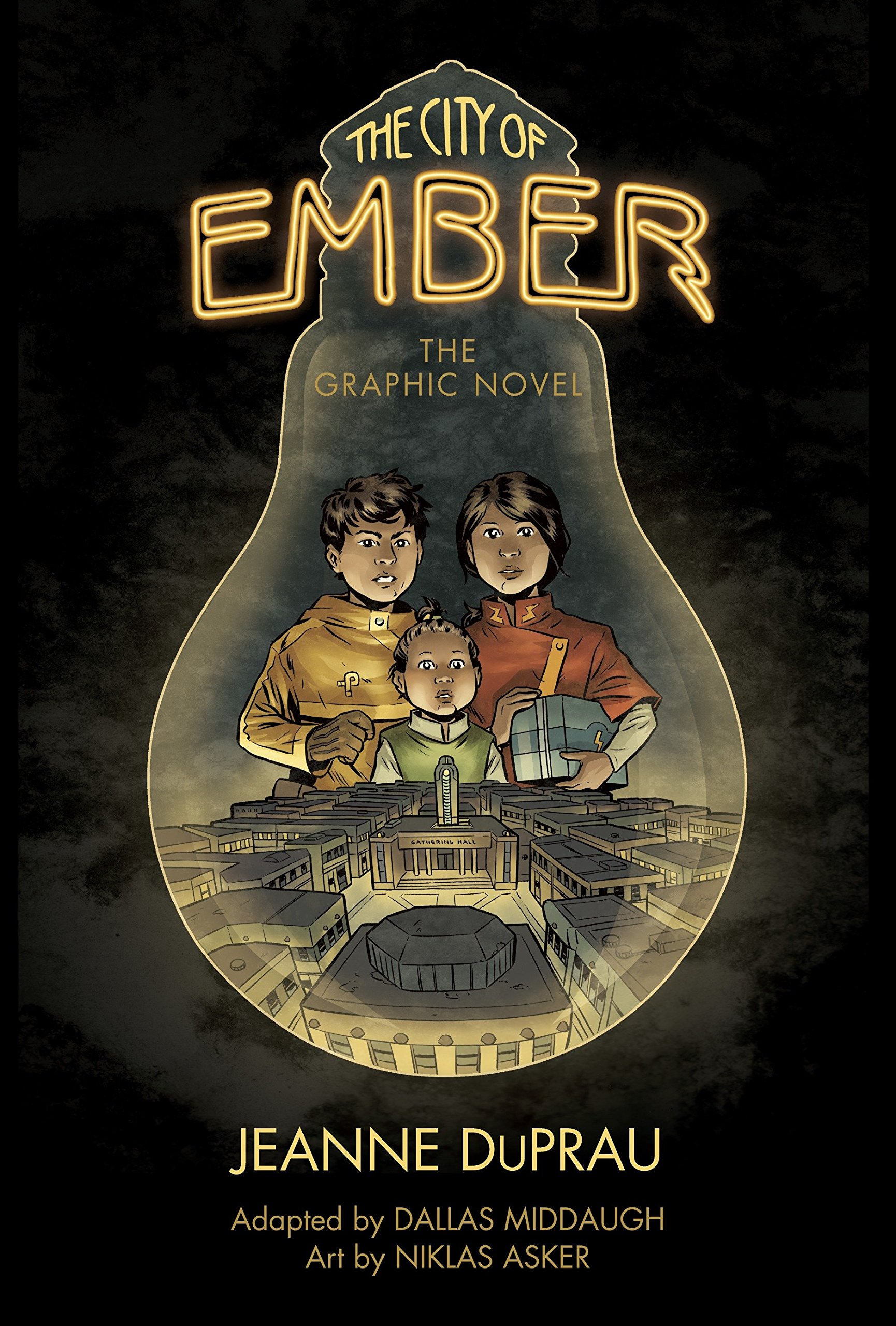 The City of Ember: The Graphic Novel: Middaugh, Dallas, DuPrau, Jeanne,  Asker, Niklas: 9780375867934: Amazon.com: Books