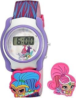 Nickelodeon Girls Shimmer and Shine Digital Display Multi-Color Watch SASKD16015