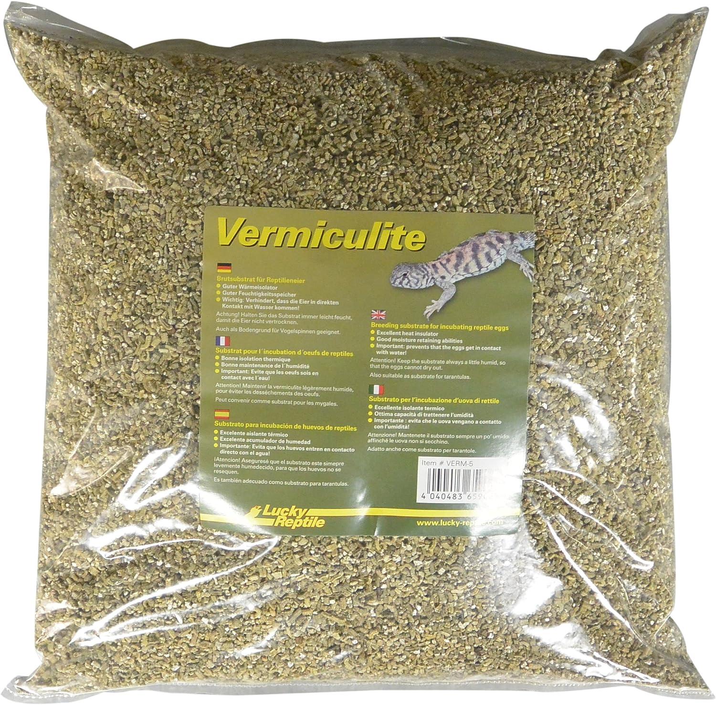 Lucky Reptile Vermiculite, Sustrato para Huevos de Reptiles