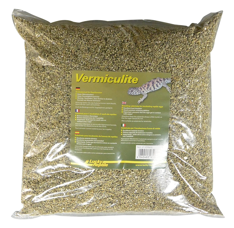 Lucky Reptile verm de 5 vermiculita 5 l, Brut sustrato para reptilieneier Verm-5