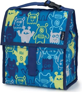 PackIt Freezable Lunch Bag with Zip Closure, Monsters