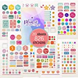 Stunning Planner Stickers - Variety & Value Pack of 826 Beautiful Stickers, Accessories Designed to Complement Your…