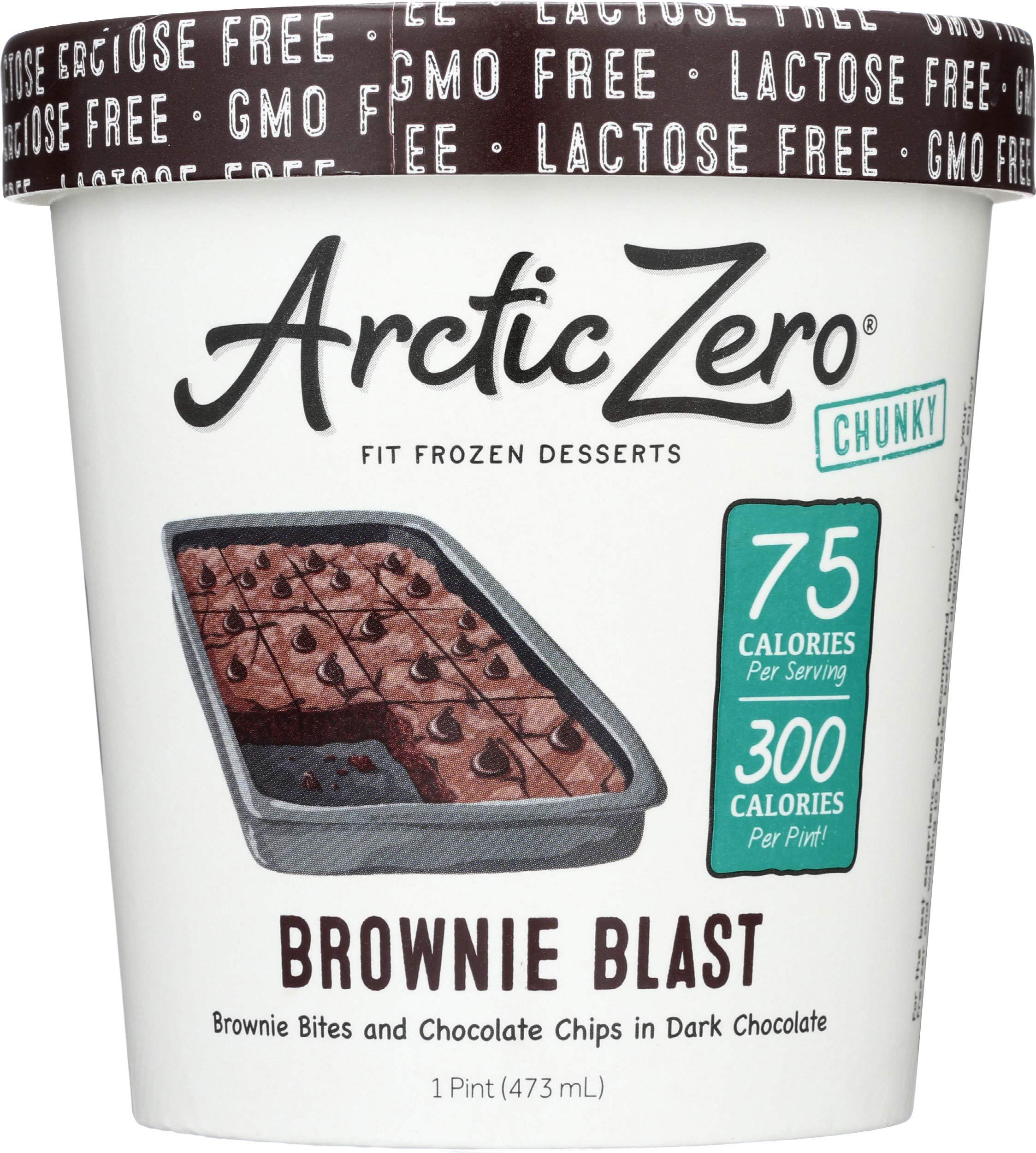 6 Pack, Arctic Zero Brownie Blast Pint