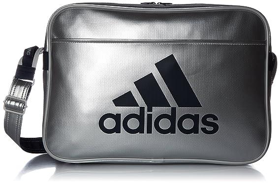 Image Unavailable. Image not available for. Colour  adidas shoulder bag  LIGHT enamel L matte silver   college navy 888cb50f21c27