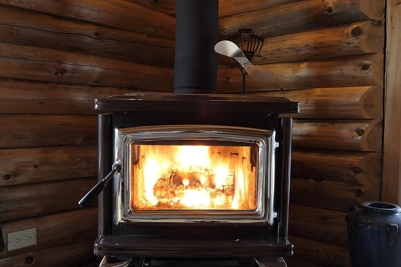 amazon com ecofan 812ambbx airmax large heat powered wood stove