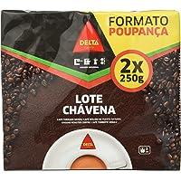 Delta - Lote Chávena Café Molido De Tueste Natural. Formato ahorro: 2 x 250g