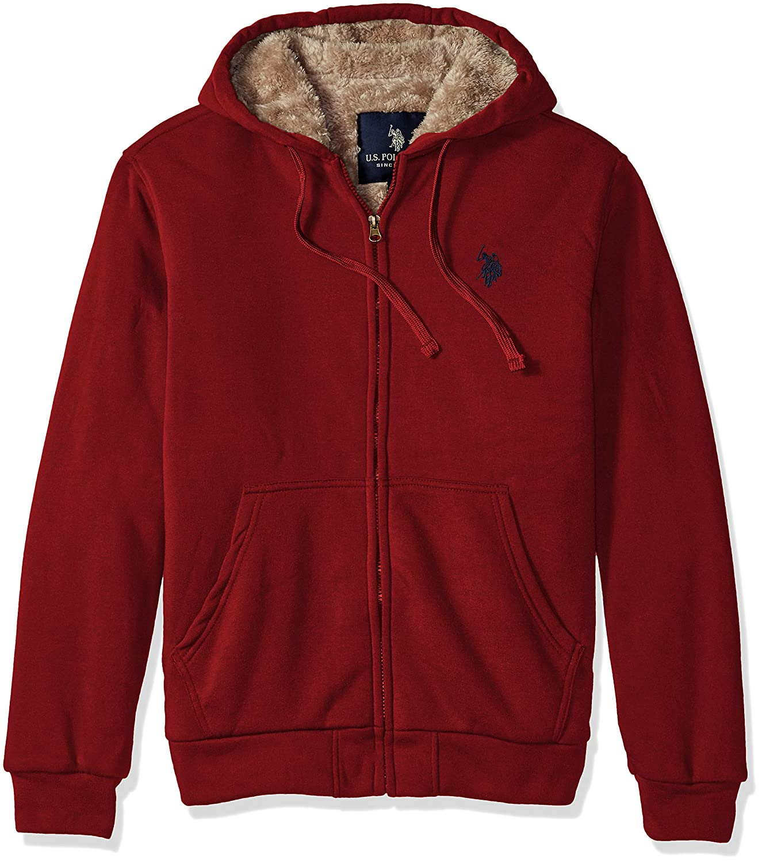 U.S. Polo Assn. OUTERWEAR メンズ B01GV5UZL6 X-Large|レッド(University Red) レッド(University Red) X-Large