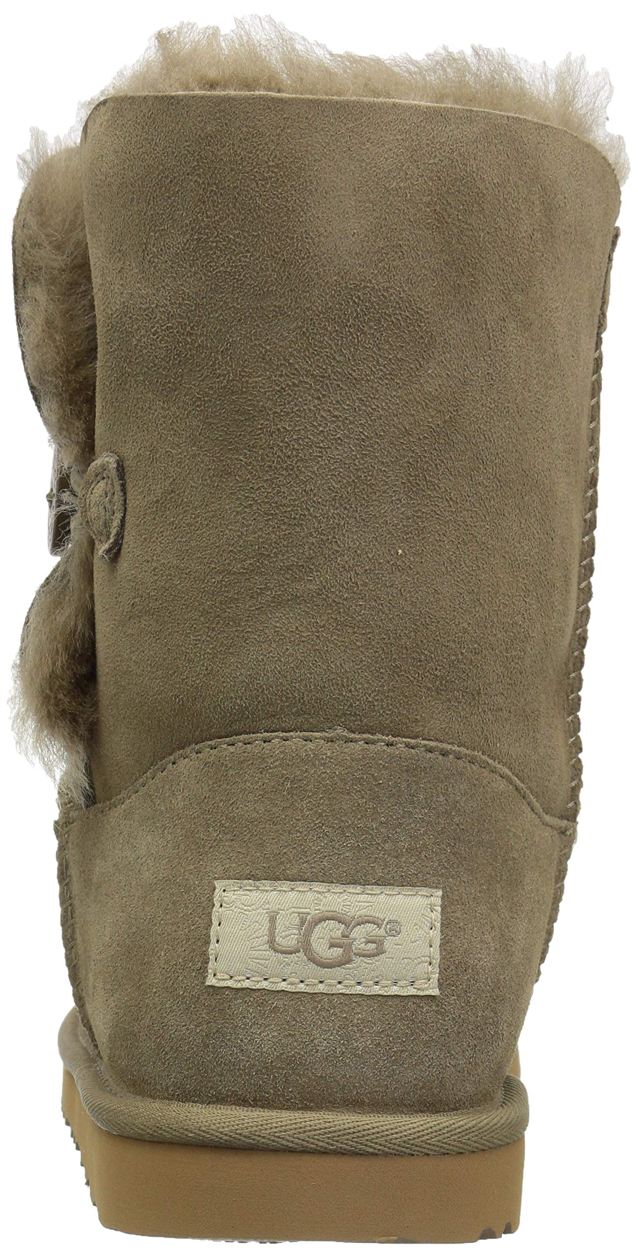 UGG Unisex K Bailey Button II Fashion Boot, Antilope, 13 M US Little Kid by UGG (Image #2)