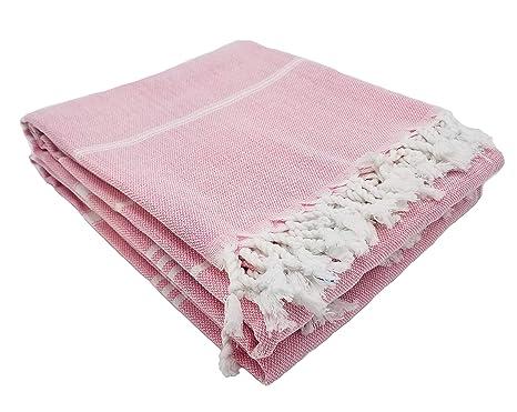 "Soft Large Quick Dry 100/% Cotton Turkish Peshtemal Beach Bath Towel 39/""X70/"""