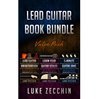 Lead Guitar Book Bundle: Lead Guitar Breakthrough + Learn Your Guitar Scales + 5-Minute Guitar Jams (Books + Online… book cover