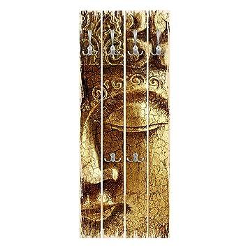 Bilderwelten Perchero de Madera - Vintage Buddha - Ganchos ...
