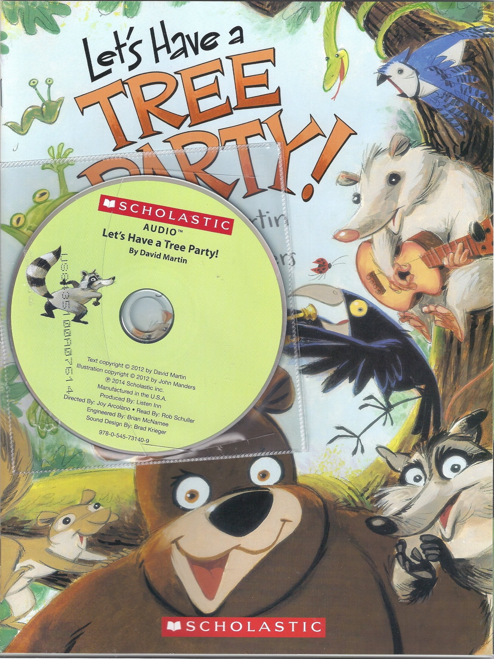 Read Online Let's Have a Tree Party with Read Along Cd pdf