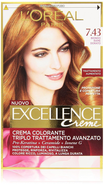Connu L'Oréal Paris Excellence Crema Colorante Triplo Trattamento  KE98