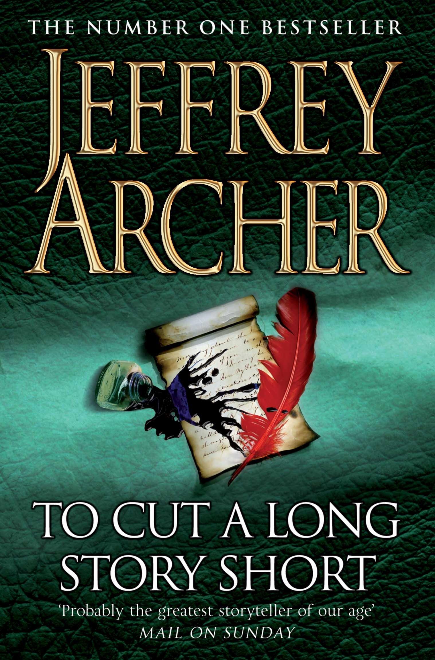 To Cut A Long Story Short: Amazon.co.uk: Jeffrey Archer: 8601404413445:  Books