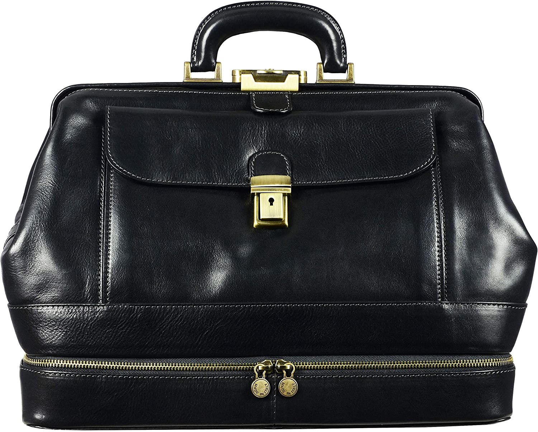 Fashion Women/'s retro doctor bag messenger bag ladies handbag shoulder bag