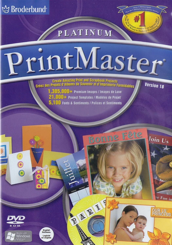 Printmaster Platinum Version 18 Amazon Pc Video Games