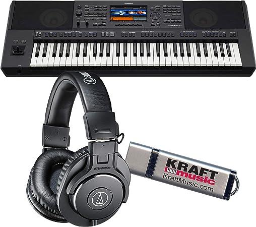 Yamaha PSR-SX900 Arranger teclado de estación de trabajo con ...