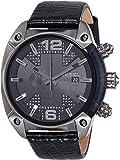 Diesel Men's DZ4372 Overflow Analog Display Quartz Black Watch