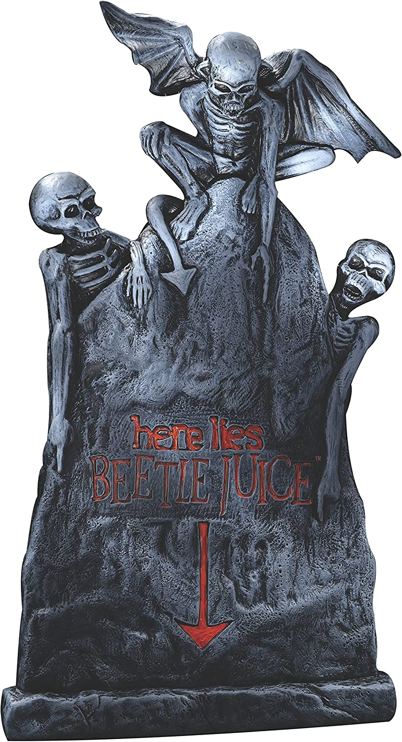 Rubies Beetlejuice Tombstone Decor, Small