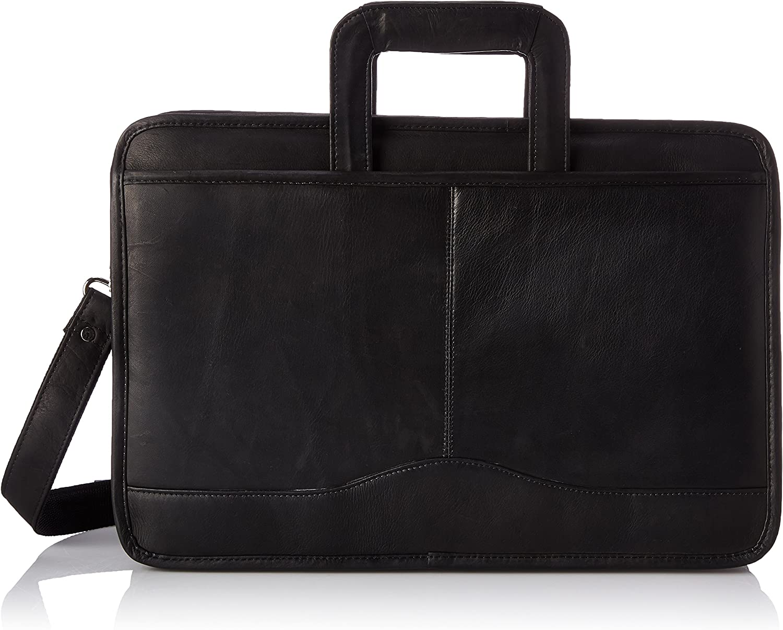 David King & Co. Triple Gusset Drop Handle, Black, One Size