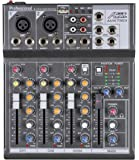 Audio2000'S AMX7303- Professional Four-Channel Audio Mixer with USB and DSP Processor
