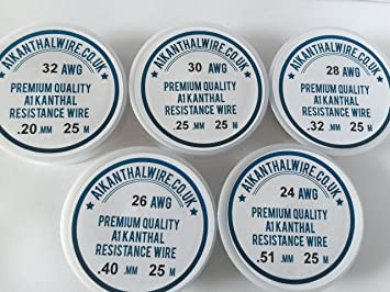 Kanthal A1 Typ Widerstand Draht Pack – \
