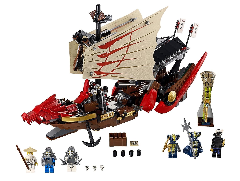 lego ninjago playthme 9446 jeu de construction le qg des ninjas amazonfr jeux et jouets