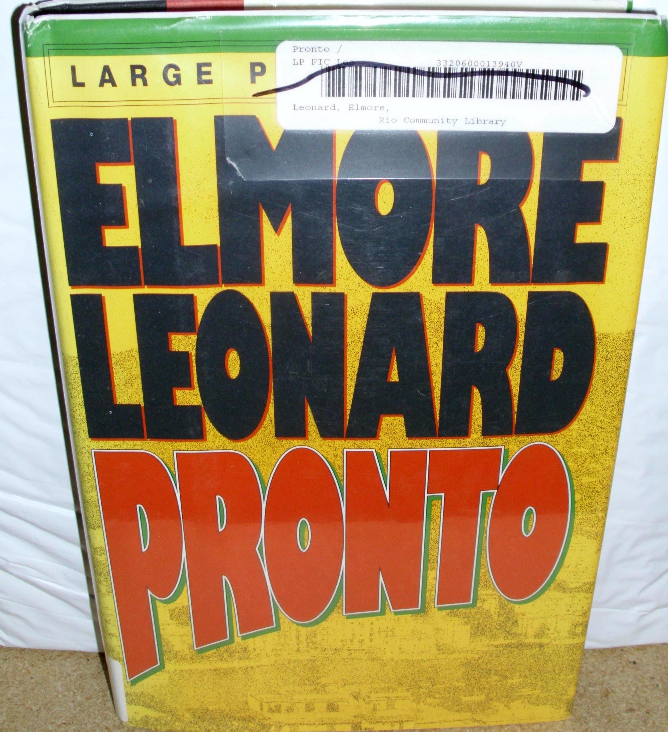 Pronto: Amazon.es: Elmore Leonard: Libros en idiomas extranjeros