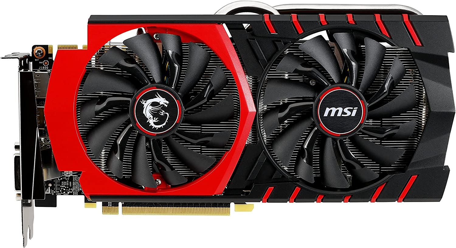 MSI Armor 2X GeForce GTX 970 4GB OC DirectX 12 VR Ready GTX 970 4GD5T OC