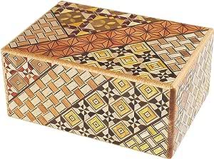 Original japonais Puzzle Boîte à secret Himitsu Bako 4 voies Puzzle: Amazon.es: Juguetes y juegos