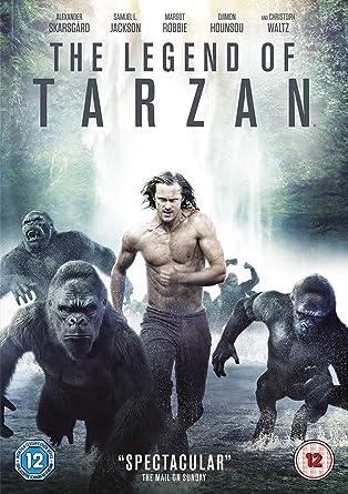 Amazon Com The Legend Of Tarzan Dvd Digtial Download 2016 Movies Tv