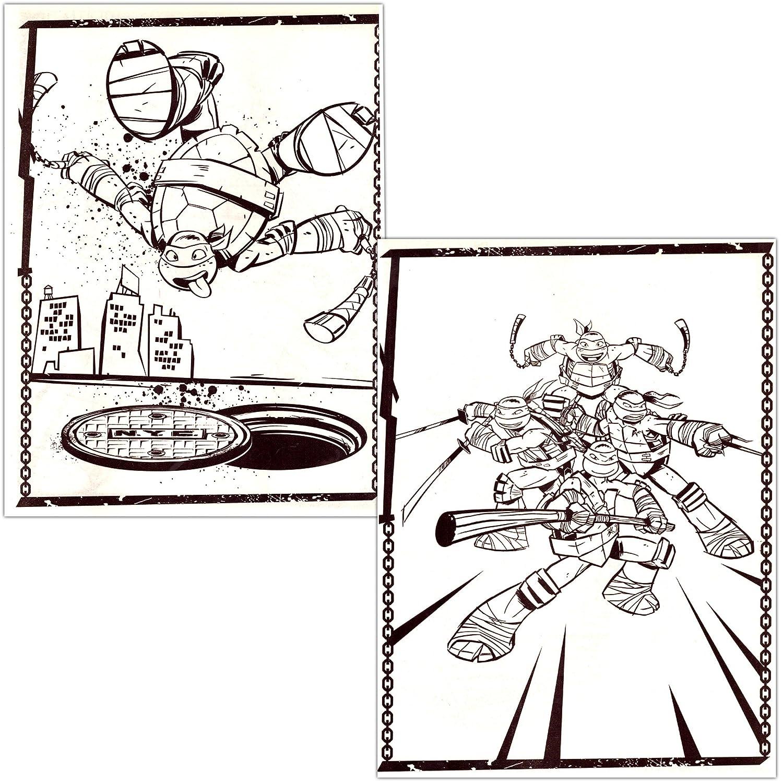 TMNT Teenage Mutant Ninja Turtles Coloring & Activity Book ...
