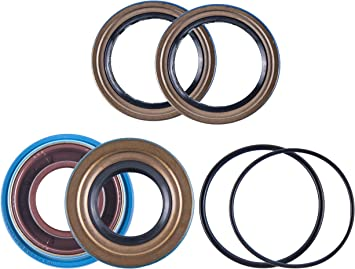 500 2001 2002 2003 2004 East Lake Axle Rear differential seal kit compatible with Honda TRX 400//450