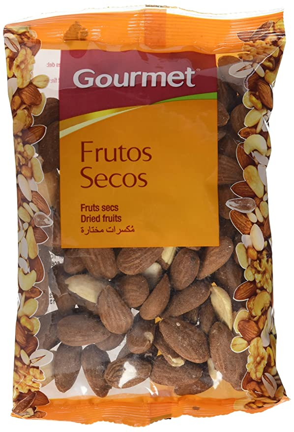 Gourmet Frutos Secos Almendra Largueta Con Piel Tostada Al Natural - 125 gr: Amazon.es: Amazon Pantry