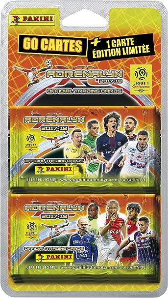 Panini Francia sa 2320 – 043 Foot Adrenalyn Blister 10 Fundas + Tarjeta Edicto Limitada: Amazon.es: Juguetes y juegos
