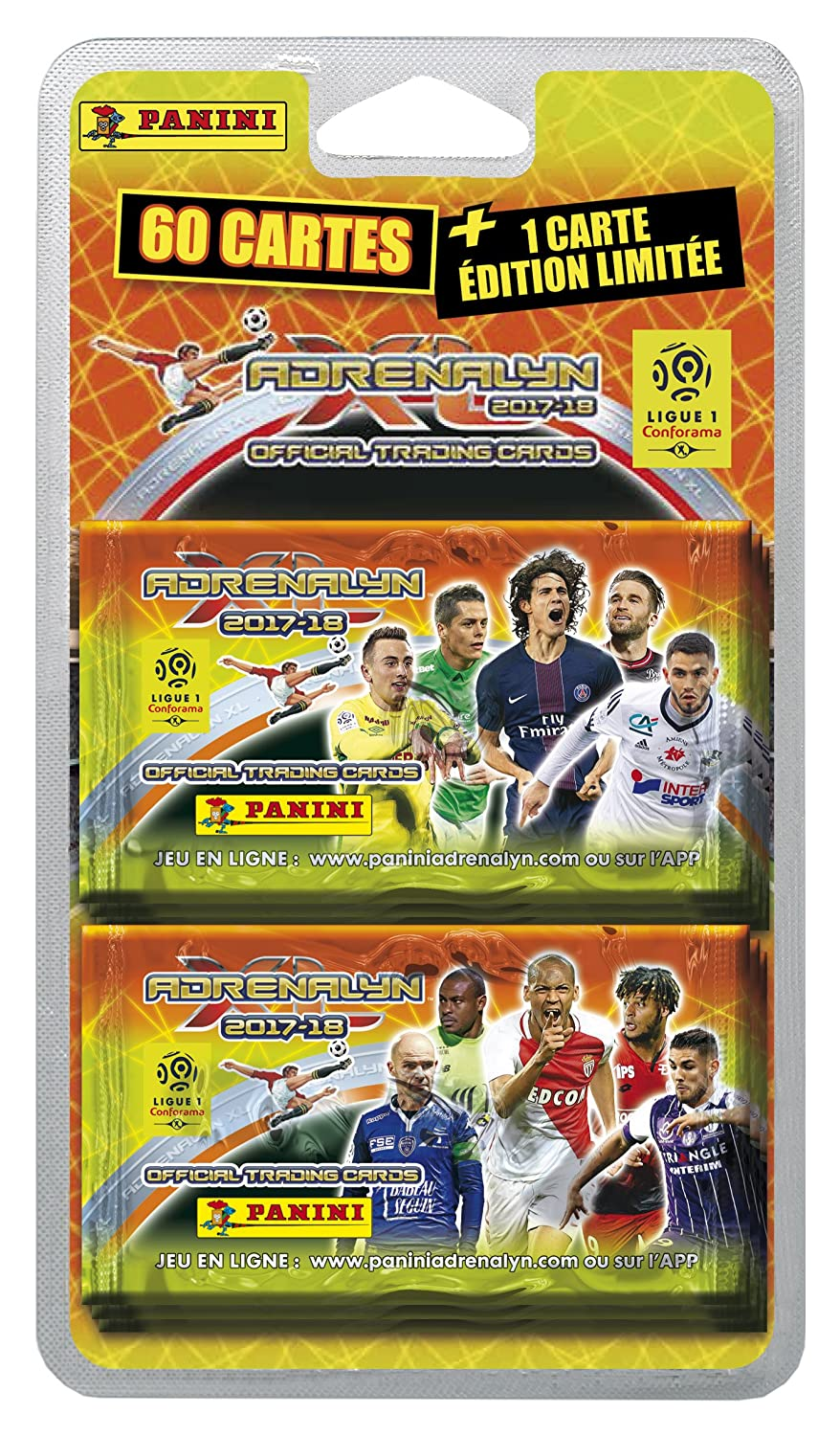 Panini Francia sa 2320 - 043 Foot Adrenalyn Blister 10 ...