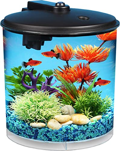 Koller-Products-AquaView-2-Gallon-360-Fish-Tank