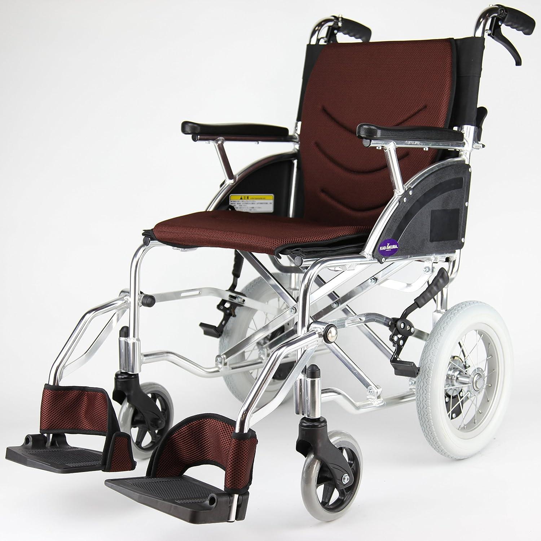 カドクラ kadokura 介助用車椅子 リーフ ココアブラウンF101-BR B0747SN983