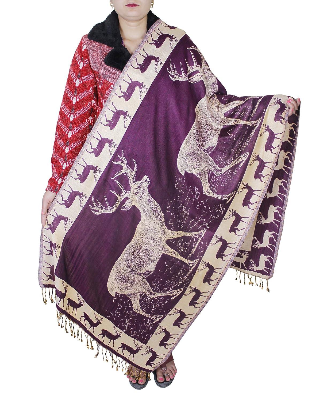 Cashmere Shawl for Girls - Indian Fashion Wool Shawl for Women