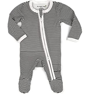 c1baeef48 Amazon.com  Dordor   Gorgor Organic Zip Front Sleep  N Play