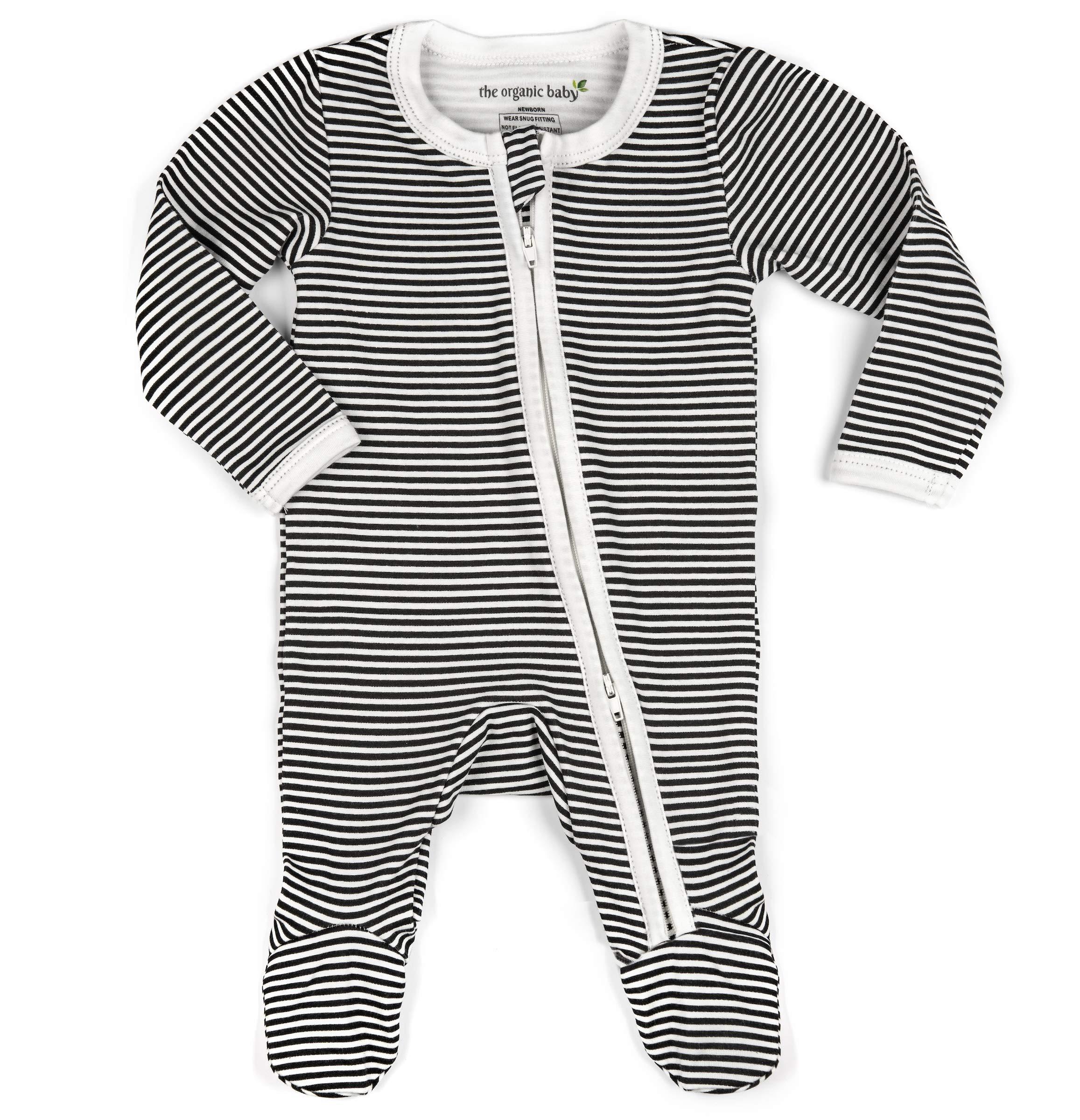 75d6efa090 Organic Cotton Baby Boy Girl Unisex Zip Front Sleep  N Play