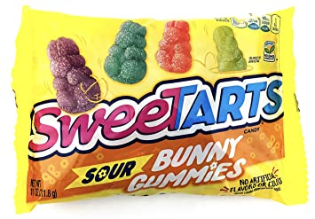 Amazon.com : SweeTARTS Sour Bunny Gummies Candy, No ...